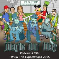 2015 Podcast Walt Disney World Trip Expectations