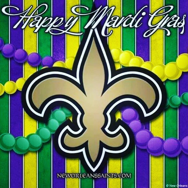 Happy Mardi Gras 2016 in New Orleans
