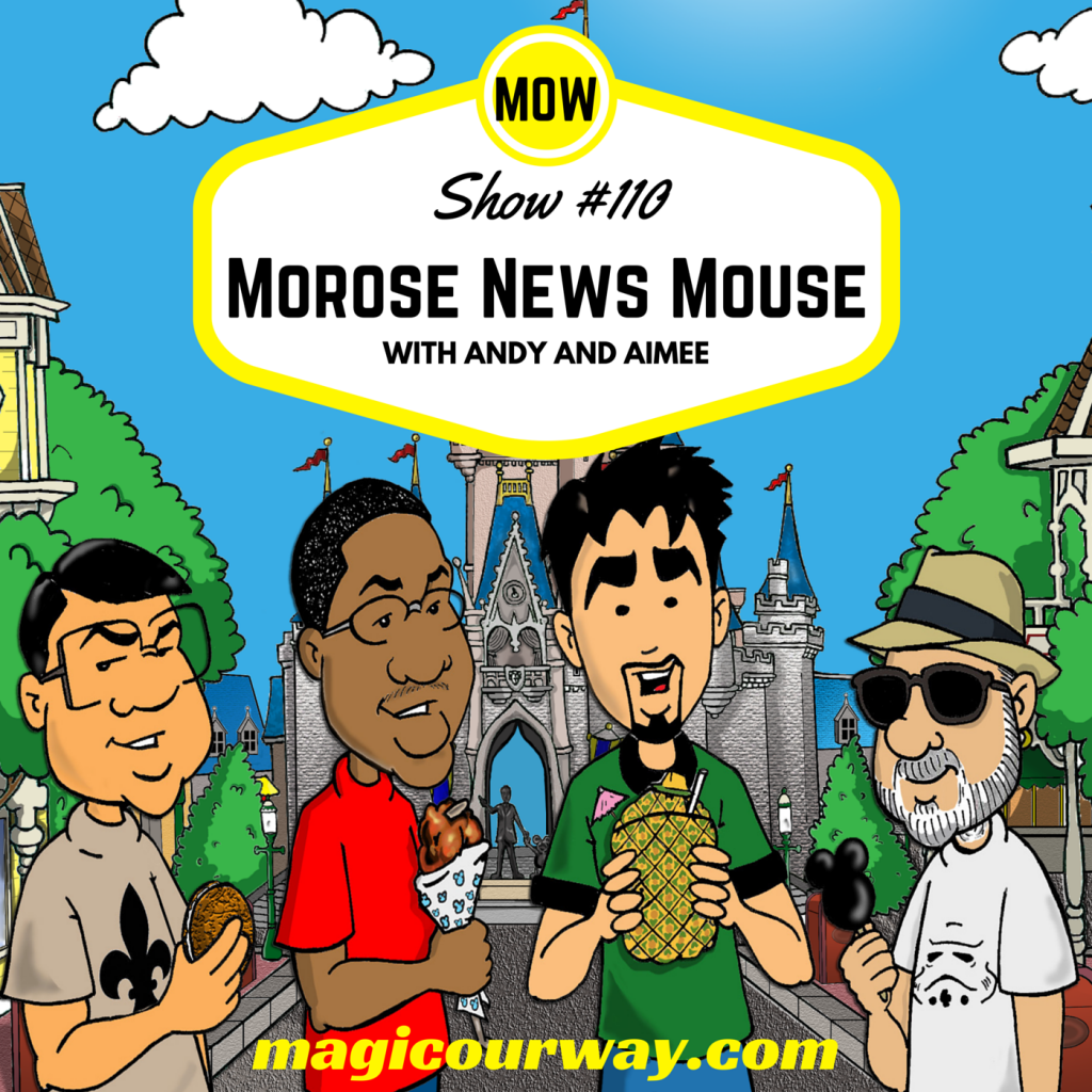 Morose News Mouse (Disney Bad News)
