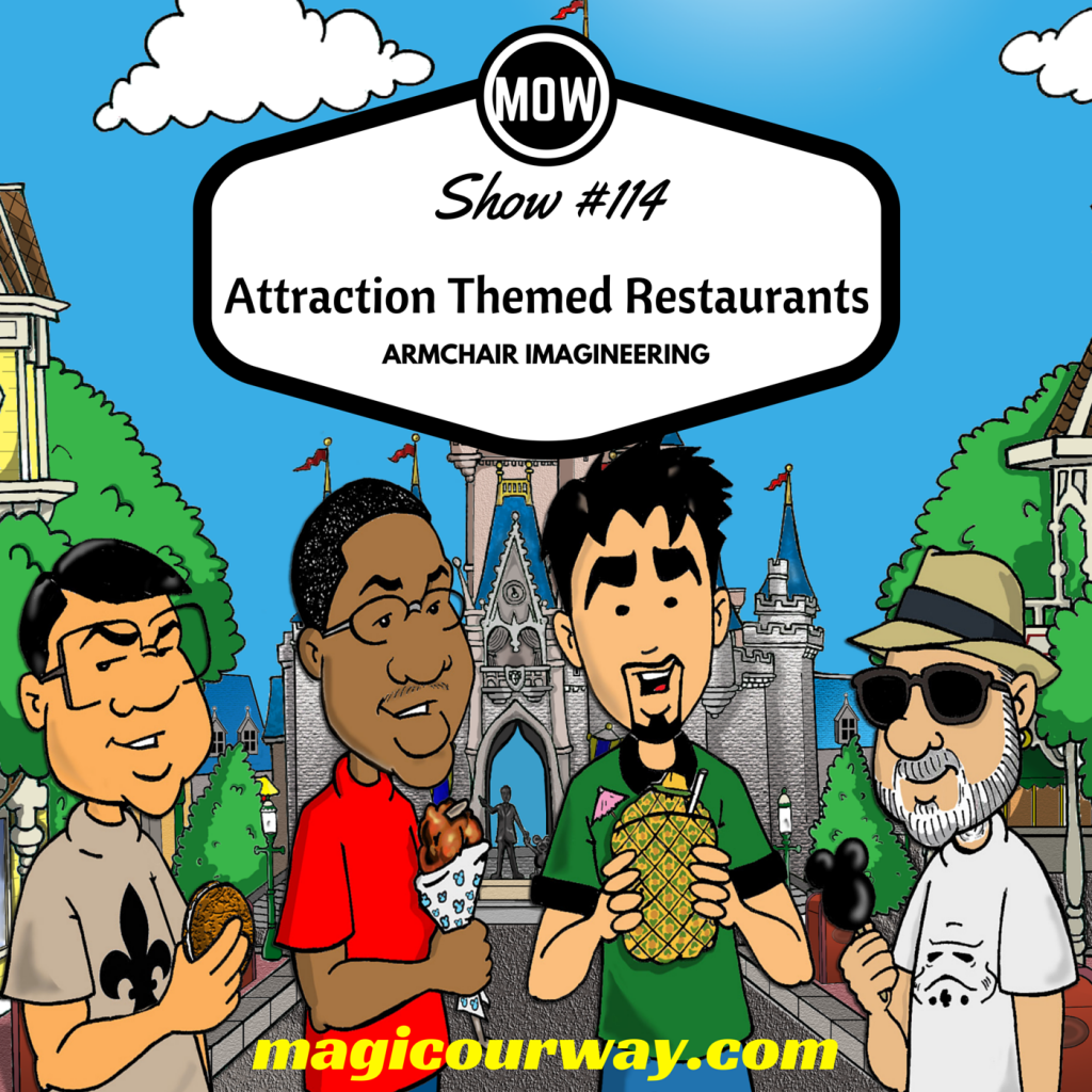 Armchair Imagineering: Attraction Themed Restaurants