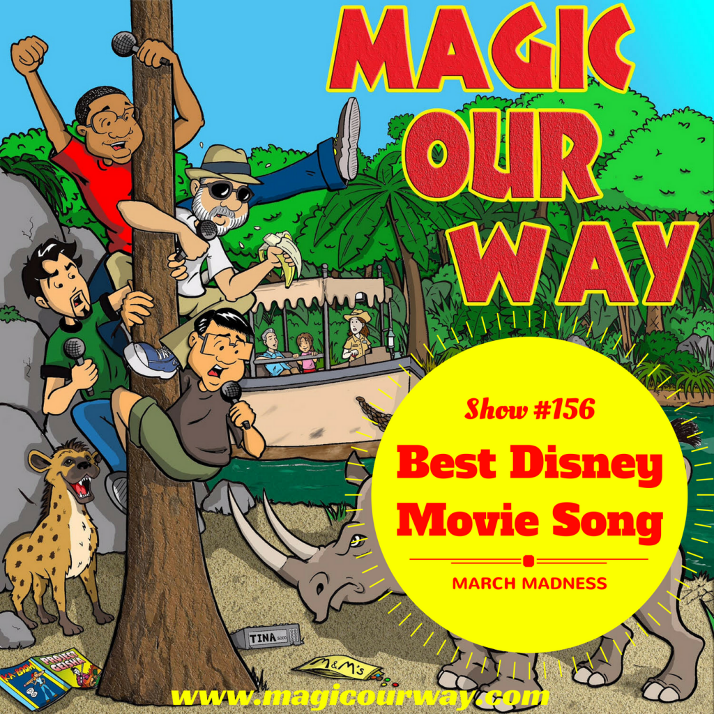 Best Disney Movie Song March Madness Bracket – MOW #156