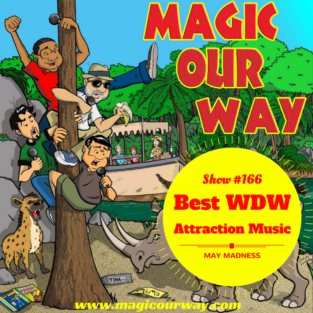 Best WDW Attraction Music Bracket – MOW #166