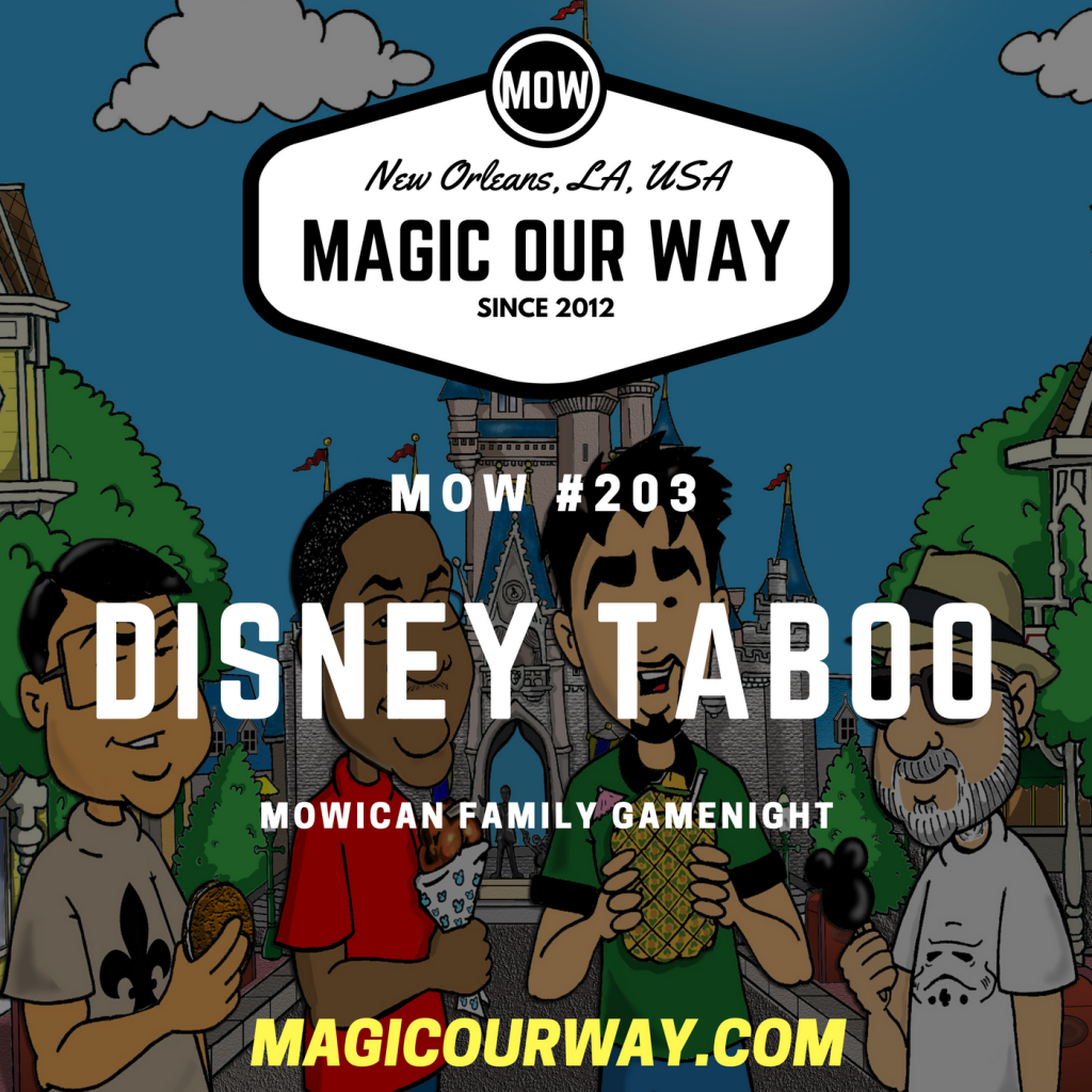 DISNEY TABOO: MOWican Family Game Night – MOW #203