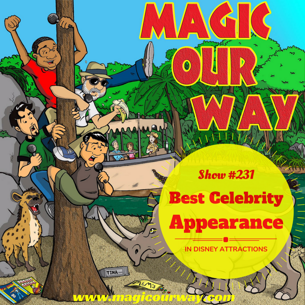 Disney Attractions: Best Celebrity Appearance Part 1 – MOW #231