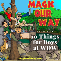 10 Things for Boys at WDW